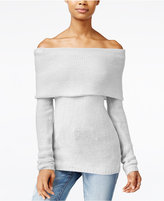 One Hart Juniors' Off-The-Shoulder Sweater, Only at Macy's