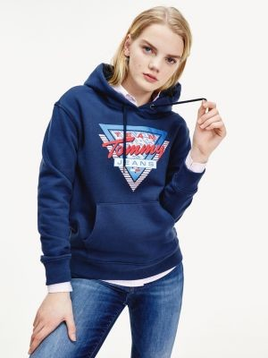 Tommy Hilfiger Mountain Logo Relaxed Fit Hoody