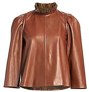 Sea Women's Lidia Leather Top