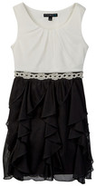 My Michelle mymichelle Beaded Ruffle Dress (Big Girls)