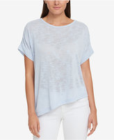 Tommy Hilfiger Asymmetrical T-Shirt, Created for Macy's