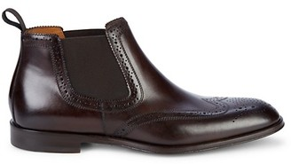 Bruno Magli Lamberto Leather Ankle Boots
