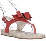 MICHAEL Michael Kors Med Thong T-strap Flat Sandals, Mandarin.