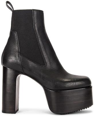 Rick Owens Kiss 65 Boot in Black | FWRD