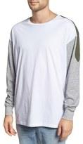 Zanerobe Men's 'Mech Rugger' Oversize Long Sleeve T-Shirt