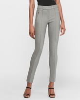 Express High Waisted Zip Pocket Skinny Pant