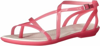 Crocs Women's Isabella Gladiator Sandal W Flat