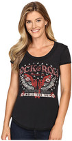 Rock and Roll Cowgirl Short Sleeve T-Shirt 49T8186