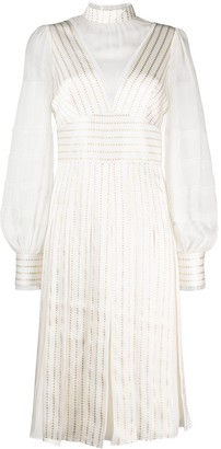 Temperley London Eddie sleeved dress