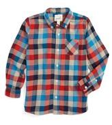 Boy's Peek Fulton Check Woven Shirt
