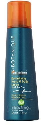 Botanique by Himalaya Revitalizing Hand & Body Lotion for All Skin Types