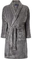 John Lewis Embossed Check Robe