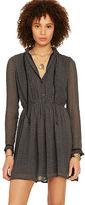 Denim & Supply Ralph Lauren Velvet-Trim Sheer Dress