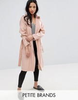 New Look Petite Utility Trench Jacket
