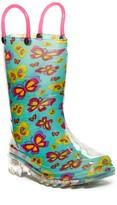 Western Chief Flutter Fierce Light-Up Rain Boot (Toddler & Little Kid)