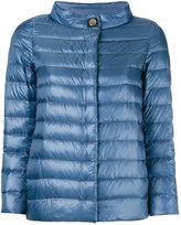 Herno high neck puffer jacket - women - Cotton/Feather Down/Polyamide/Viscose - 46
