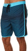 Hurley Motion Stripe Mens Boardshort Blue
