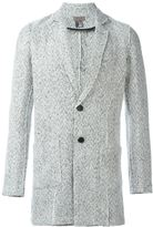 Tony Cohen double buttons tweed blazer - men - Polyester/Wool - 48
