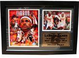 Miami Heat LeBron James Photo Stat Frame