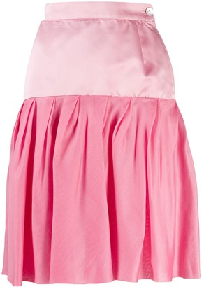 Emanuel Ungaro Pre-Owned 1980's Pleated Skirt