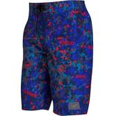 Speedo Mens Printed Leisure 22 Inch Water Shorts Navy/Blue