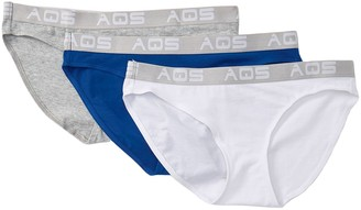 Aqs Assorted Cotton Bikini - Pack of 3