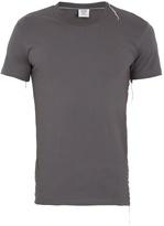 Vetements X Hanes asymmetric-detail cotton T-shirt