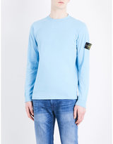 Stone Island Patch-embroidered Cotton-jersey T-shirt