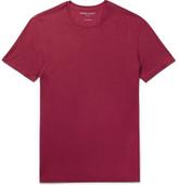 Derek Rose Basel Stretch-micro Modal Jersey T-shirt - Claret