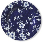 French Blue Bouquet Salad Plates, Set of 4, Blossom