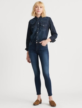 Lucky Brand Mid Rise Ava Super Skinny Jean