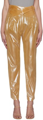 BLAZÉ MILANO Nova' metallic basque pants