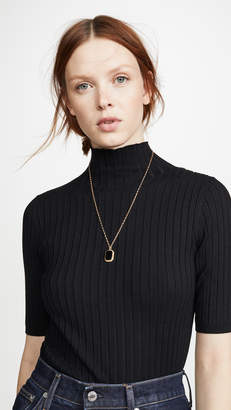 525 America Ribbed Mock Neck Pullover