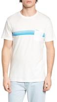 RVCA Men's Stripe Graphic T-Shirt