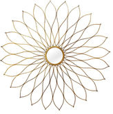 Asstd National Brand Stratton Home Dcor Flower Mirror Wall Dcor