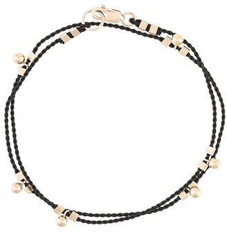 Petite Grand Wrap Cord Ball Drop Bracelet
