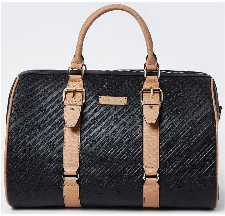 Thumbnail for your product : River Island Embossed Ri Barrel