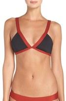 L-Space Women's L Space 'Farrah' Colorblock Bikini Top