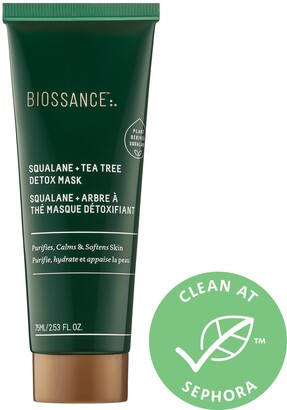 Biossance - Squalane + Tea Tree Detox Mask