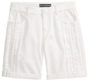 GUESS Big Girls Fray & Braid Shorts