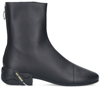 Raf Simons Block Heel Ankle Boots