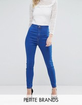 Missguided Petite Vice High Waisted Super Stretch Skinny Jean