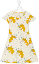 Mini Rodini Unicorn Star Wing dress - kids - Organic Cotton - 7 yrs