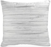 "DKNY Loft Stripe Gray 16"" x 16"" Decorative Pillow"