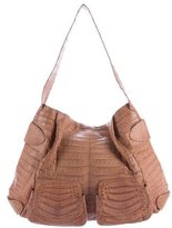 Nancy Gonzalez Crocodile Pocket Hobo
