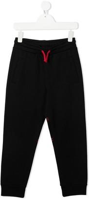Marcelo Burlon County Of Milan Kids Logo Print Sweatpants
