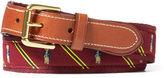 Ralph Lauren Polo BearOverlay Webbed Belt