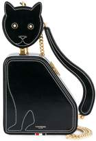 Thom Browne Cat Bag With Chain Shoulder Strap In Calf Leather