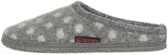 Giesswein Slippers Neuenstein Grey 40 - Felt Slippers Light Slippers for Ladies Comfortable Mules Comfortable Felt Unisex-House Shoes Made of Wool Non-Slip Barefoot Feeling Shoes for at Home