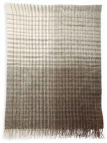 Brunello Cucinelli Checked Alpaca & Wool Blend Blanket